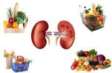 Дієта при запаленні нирок у дорослих: що можна і чого не можна їсти