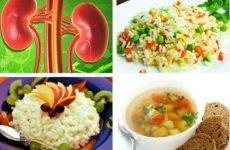 Дієта при полікістозі нирок: меню на кожен день, правильне харчування
