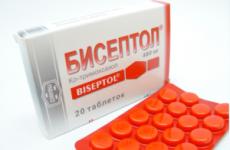 Бісептол при простатиті характеристики схеми прийом поради протипоказання рекомендації