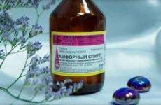 Камфорний спирт: лікувальні властивості і інструкція із застосування, лікування захворювань та відгуки