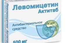 Левоміцетин: інструкція із застосування таблеток та розчину