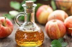Яблучний оцет для особи від прищів – особливості застосування