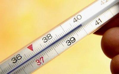 Можливі причини підвищення температури тіла при запорах