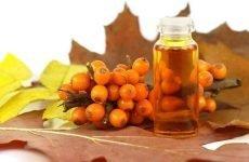 Корисні властивості обліпихової олії при гастриті