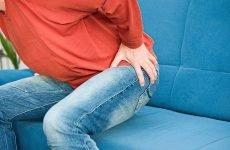 Алгоритм дій при виникненні виражених болів від геморою