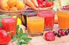 Корисні властивості томатного, яблучного, картопляного та інших соків при гастриті