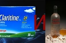 Сумісність Кларитина і алкоголю
