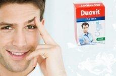Дуовіт для чоловіків: інструкція із застосування, відгуки
