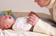 Причини запорів у новонародженого і методи усунення ознаки
