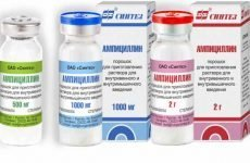 Ампіцилін: інструкція по застосуванню, антибіотик, від чого допомагає
