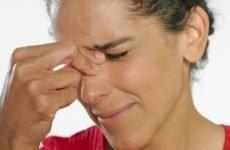 Прищі на переніссі між бровами: причини і лікування