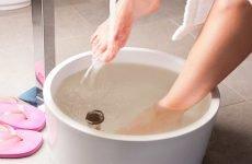 Ванночки для ніг від грибка: з содою, йодом, лимонним соком