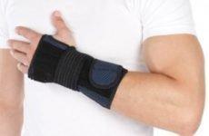 Пов'язки на руку при переломі, лангеты і пластикові гіпси на плечовий суглоб і кисть