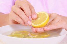 Лікування лимоном грибка нігтів на ногах і руках