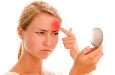 Атерома на обличчі: чому з'являється, як лікувати,профілактика
