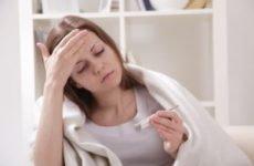 Кашель і висока температура у дорослого: лікування нежитю, сильного сухого кашлю