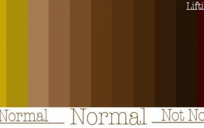 Світло-коричневий і темно-коричневий кал у дорослих і дітей: чому какашки зі слизом темно-бурого кольору