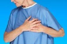 Давить і стискаючий біль в області серця