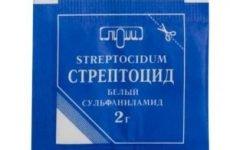 Стрептоцид для ран: інструкція по застосуванню порошку, можна присипати стрептоцидом відкриту рану