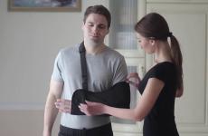 Бандаж на руку при переломі – зручний винахід сучасних медичних технологій
