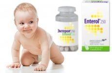 Ентерол для дітей: інструкція по застосуванню порошку Ентерол 100 і 250, як брати, відгуки для немовлят (дітей до року) при проносі