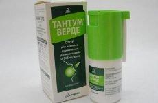 Як використовувати спрей Тантум-Верде при симптомах ангіни?