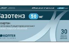 Препарат Вазотенз, який допоможе привести в норму тиск