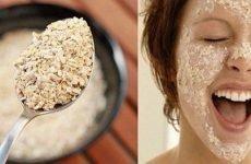 Рецепти масок для обличчя з вівсяних пластівців від зморшок: приготування і користь