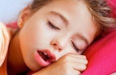 Дитина хропе після видалення аденоїдів: як усунути симптом