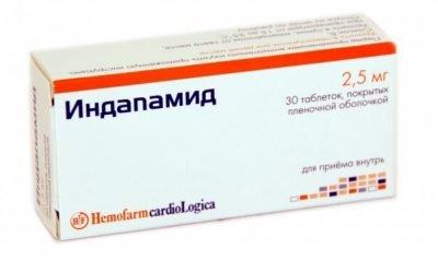 Індапамід — доступне та ефективне ліки при артеріальній гіпертензії.