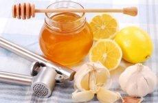Народні рецепти з лимона, меду та часнику від високого тиску