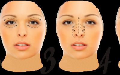 Ефективні техніки масажу від зморшок на обличчі. Види масажу і їх опису