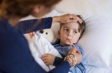 Як довго тримається температура при ангіні у дітей?
