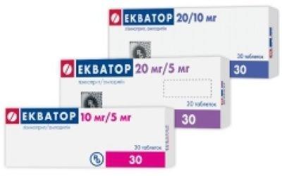 Ефективність лікування гіпертонії ліками Екватор