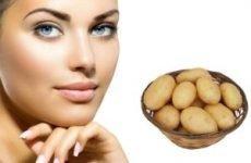 Кращі рецепти картопляних масок для обличчя від зморшок
