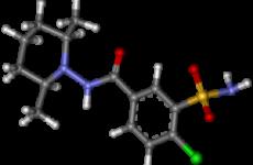 Клопамид — слабкий діуретик, який використовується при комплексному лікуванні артеріальної гіпертензії