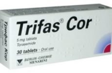 Усунення зайвої рідини в організмі препаратом Трифас