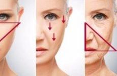 Ефективна гімнастика від брылей на обличчі