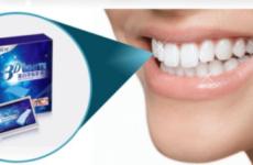 Що таке відбілюючі смужки для зубів: огляд та відгуки покупців