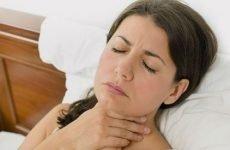 Печіння у горлі і стравоході, чому пече в гортані