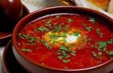 Борщ при гастриті: чи можна їсти, як готувати