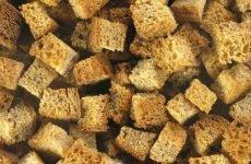 Сухарі при гастриті: чим корисні, як правильно їсти