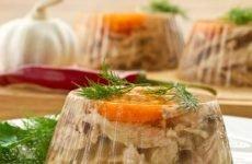 Можна їсти холодець при гастриті: користь, правила приготування