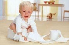 Запор у дитини в 3 роки: що робити, як лікувати дітей