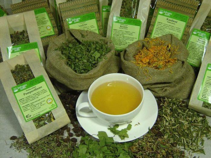 Монастырский чай от молочницы в Славске