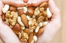 Можна їсти горіхи при гастриті шлунка чи ні?