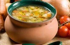 Корисний суп для шлунка: молочний, слизовий
