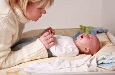 Запори у новонароджених при штучному вигодовуванні, лікування немовлят