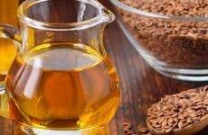 Лляне масло при гастриті: як приймати, побічні ефекти