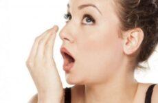 Неприємний запах з рота від шлунка: лікування, причини